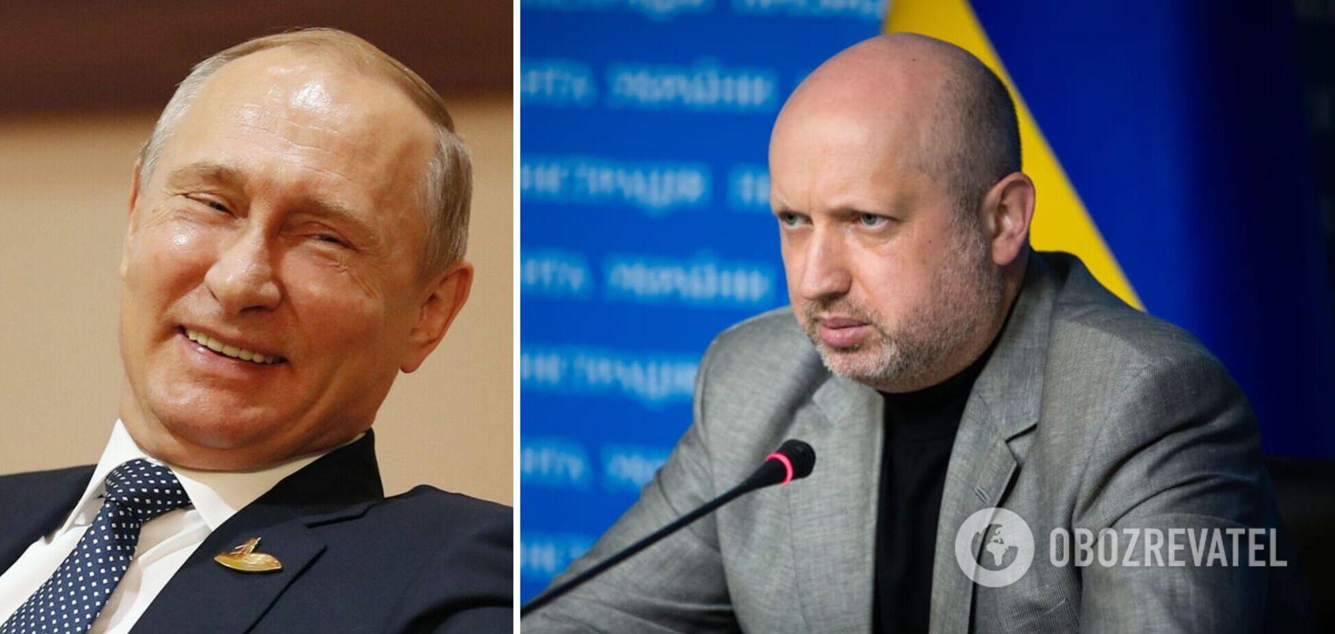 Турчинов: окружению Путина больше всего подходит образ киплинговских 'бандерлогов'