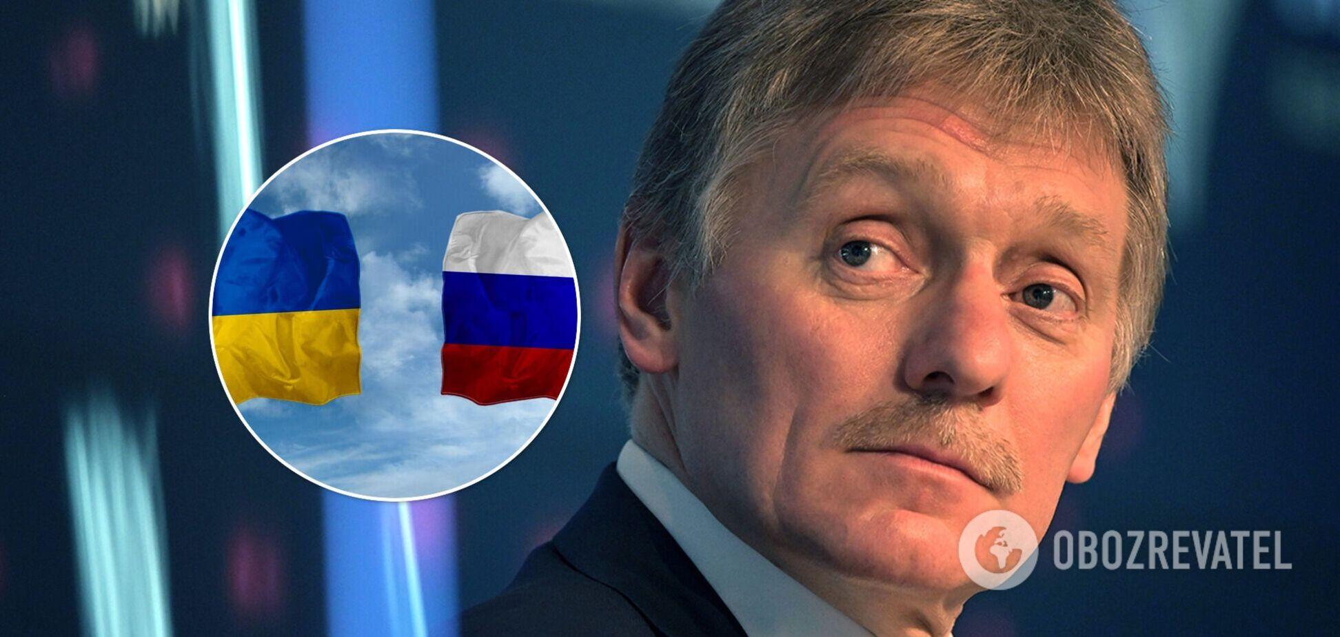 В Кремле рассказали о 'красной линии' в отношениях с Украиной