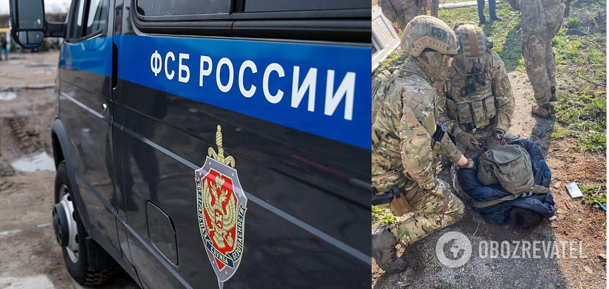 На Житомирщині СБУ викрила агента ФСБ. Відео затримання