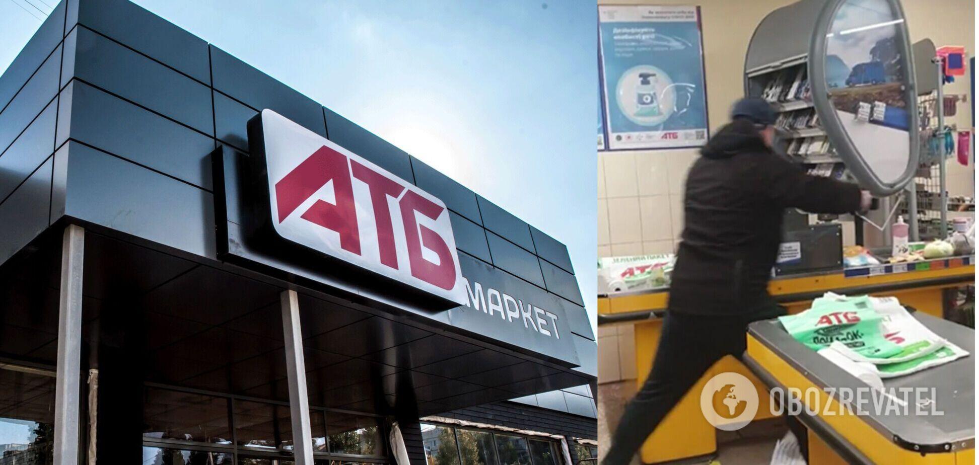 У Маріуполі чоловік із сокирою розгромив супермаркет 'АТБ': подробиці