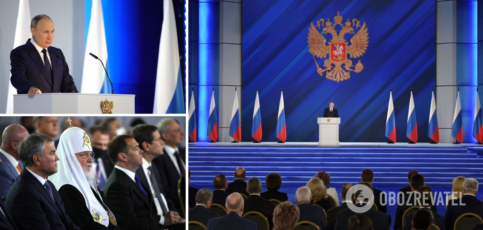 Обращение Путина: имперский маразматик думает, что что-то решает в геополитике
