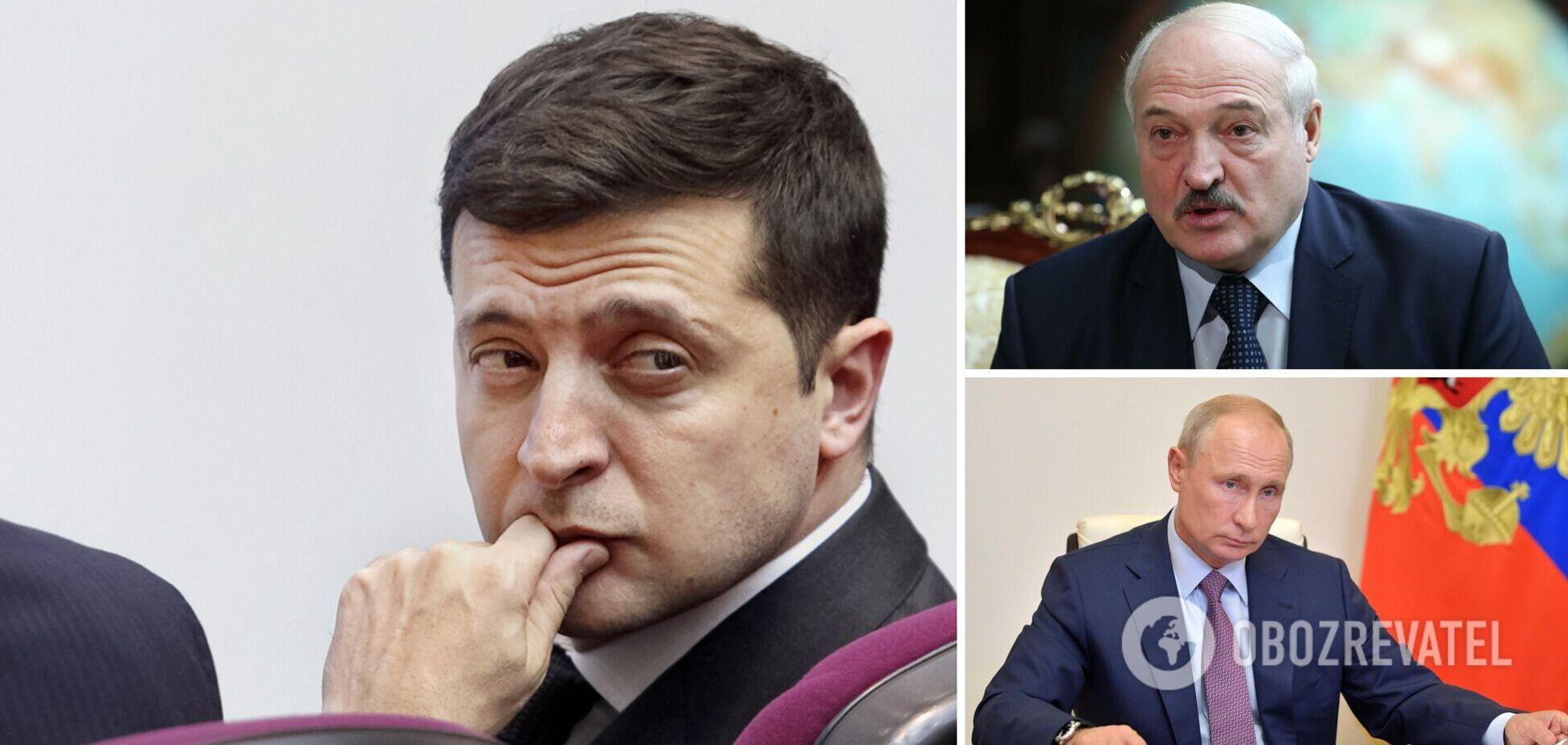 Путин ответил на предложение Зеленского о встрече, а Лукашенко назвал 'глупостью' перенос переговоров из Минска