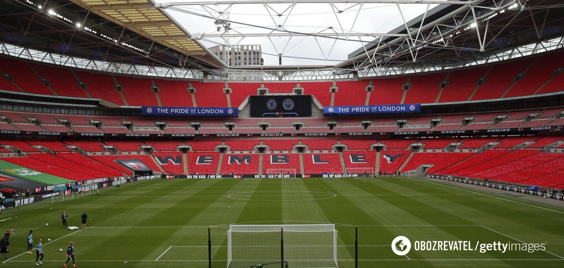 Стадион 'Уэмбли' в Лондоне