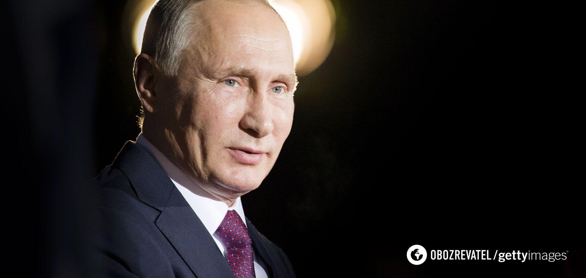 Агрессивное послание Путина Западу