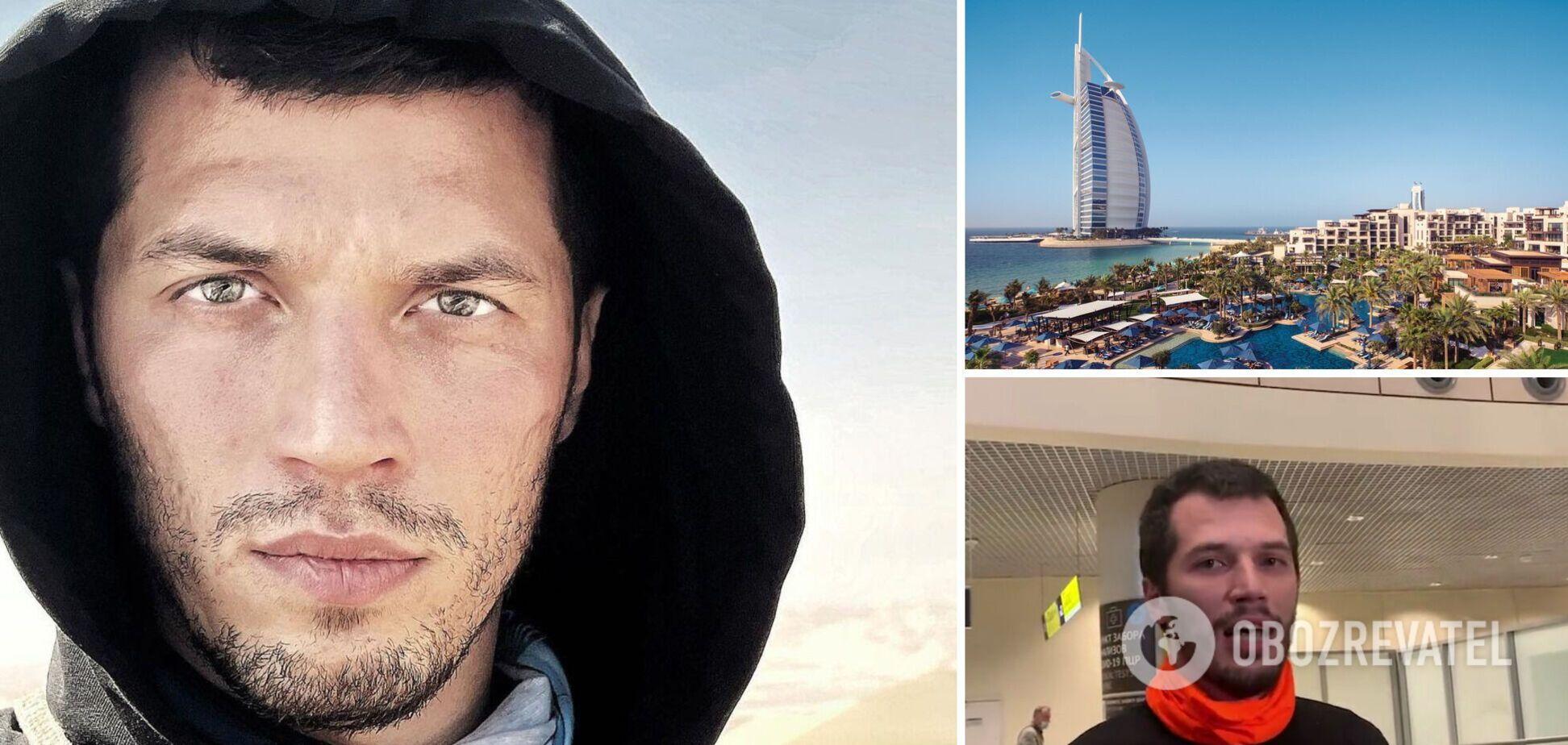 'Організатор' голої фотосесії в Дубаї повернувся в Росію: перше відео