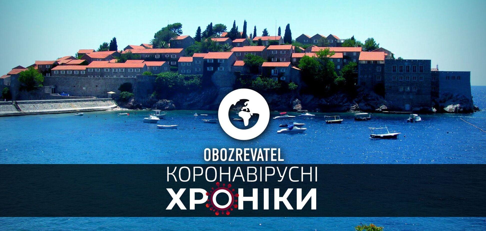 Черногория отменяет все ограничения для украинских туристов, а ВОЗ продолжила режим чрезвычайной ситуации в мире – коронавирусные хроники