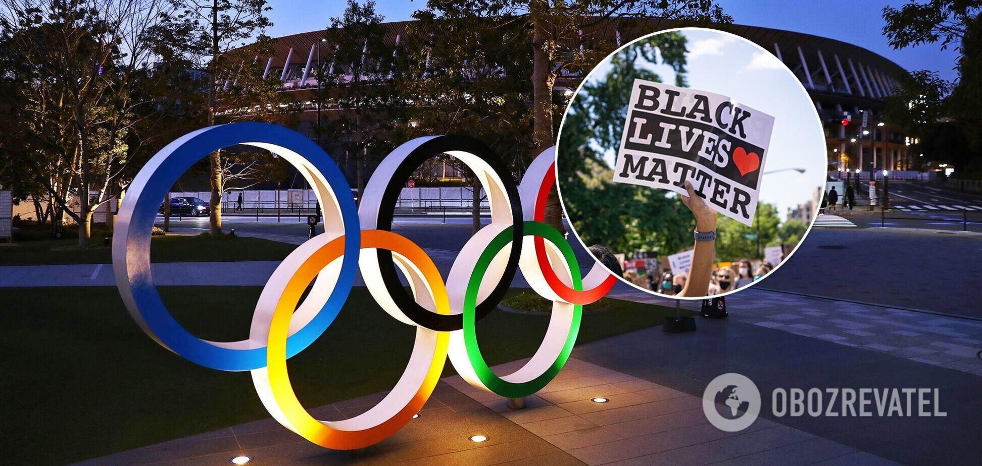 Black Lives Matter Олимпиада
