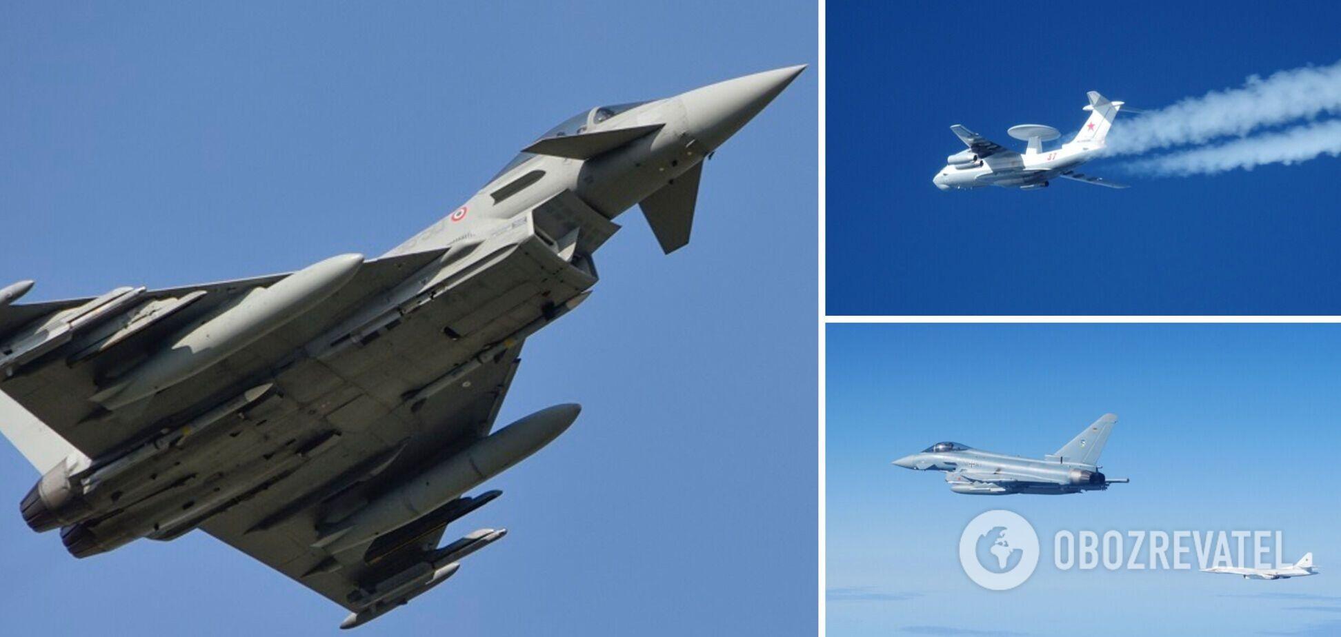 Перехоплення літаків РФ силами НАТО над Балтикою