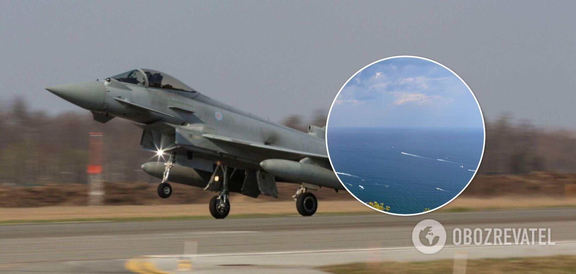 Винищувачі НАТО прилетять охороняти небо над Чорним морем
