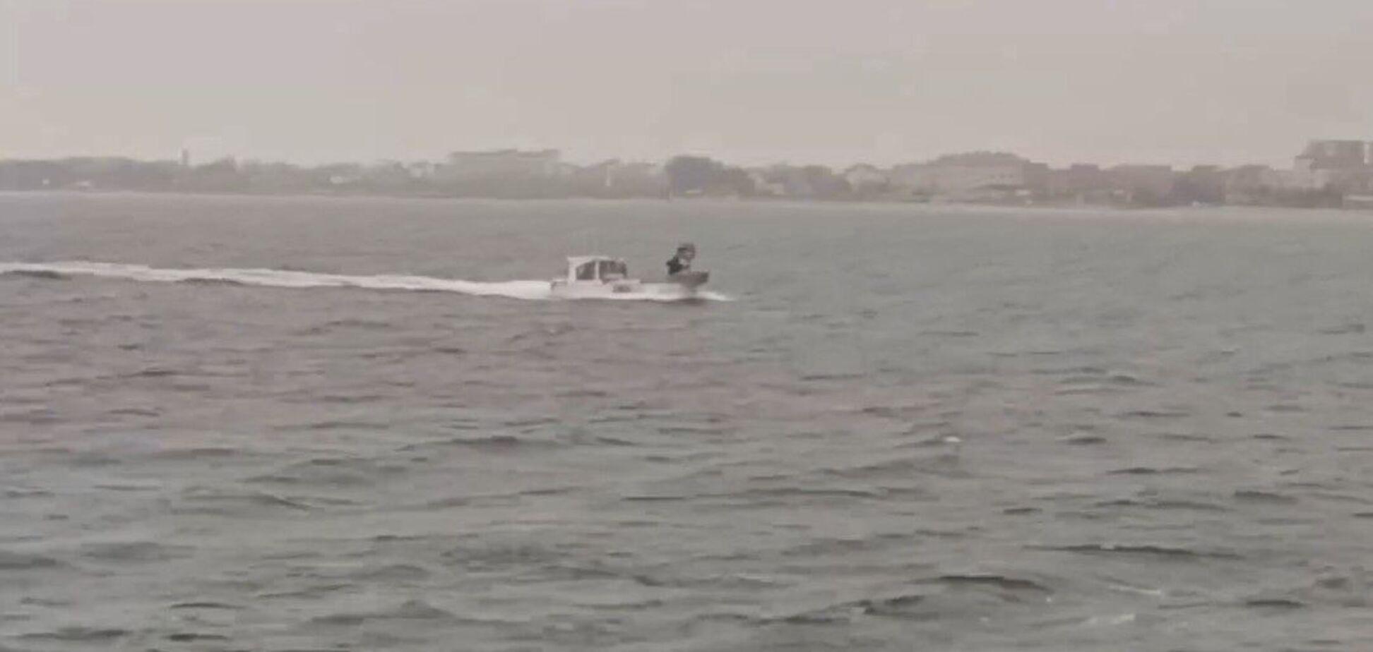 В Крыму задержали катер с украинцами