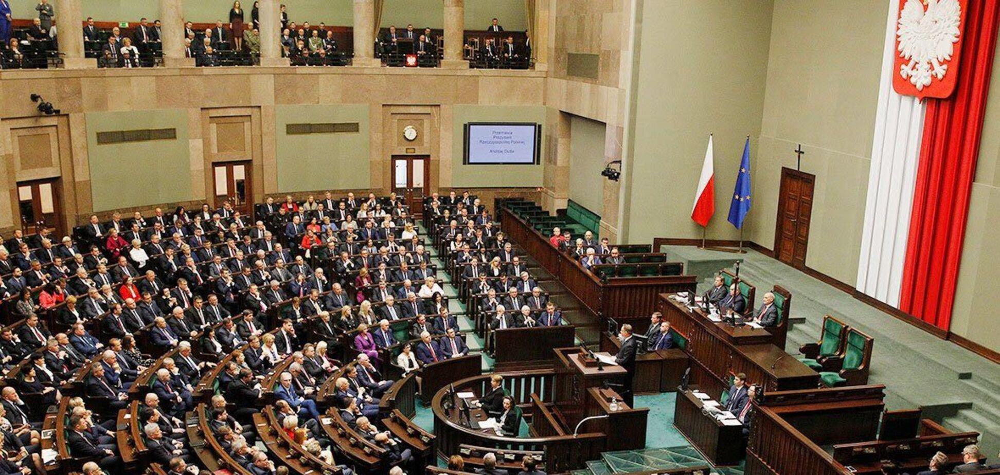 В парламентской группе Сейма Польши по поддержке 'Бабьего Яра' почтили память повстанцев в Варшавском гетто