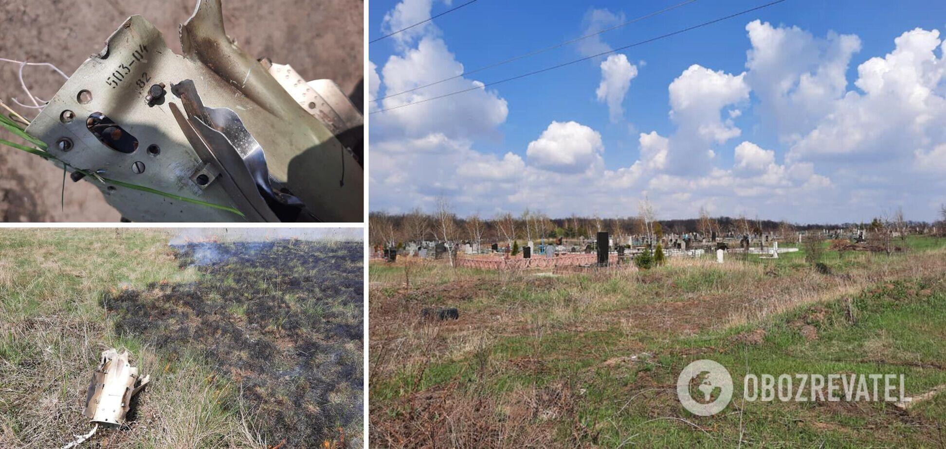 Обстрел террористами кладбища на Донбассе