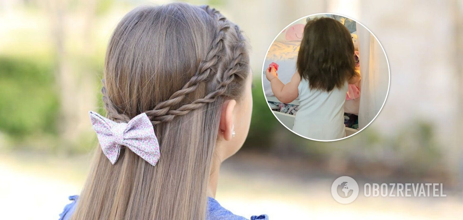 Годовалая девочка стала звездой сети из-за аномально густых и длинных волос. Фото