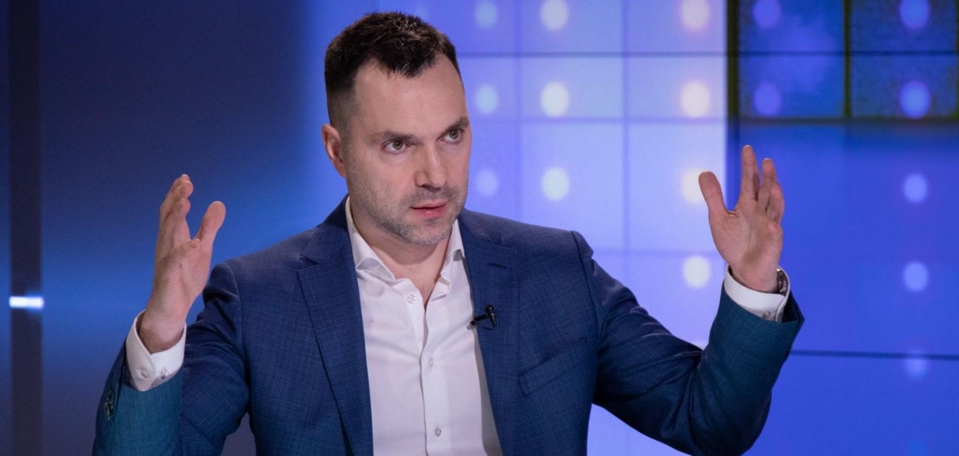 Арестович: Путін словесно вийшов з 'Мінська', переговори з 'Л/ДНР' неможливі навіть у режимі 'фантастика на другому поверсі'