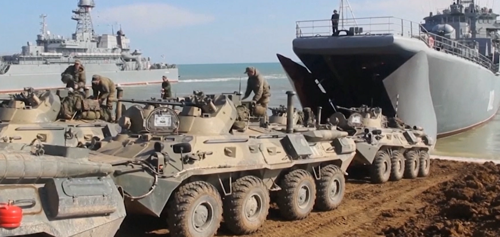 Россия заявила об отводе войск от границы с Украиной