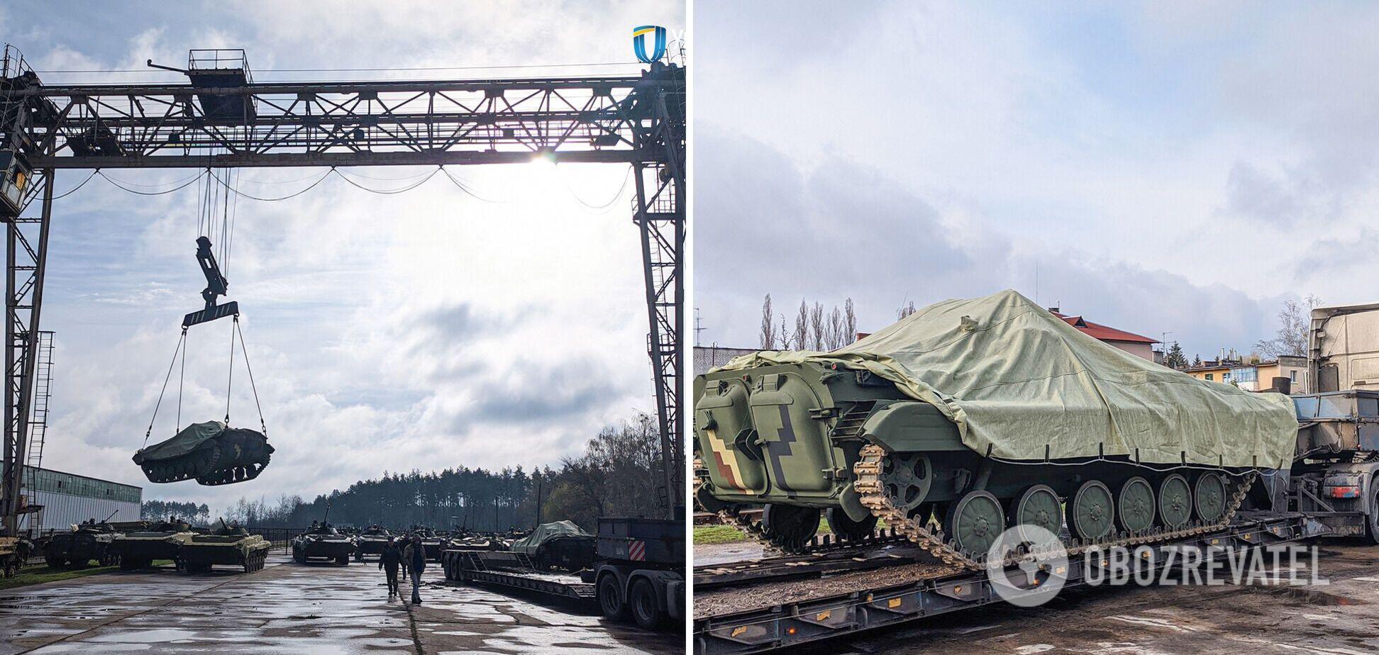 ЗСУ отримали нову партію бойових машин. Фото
