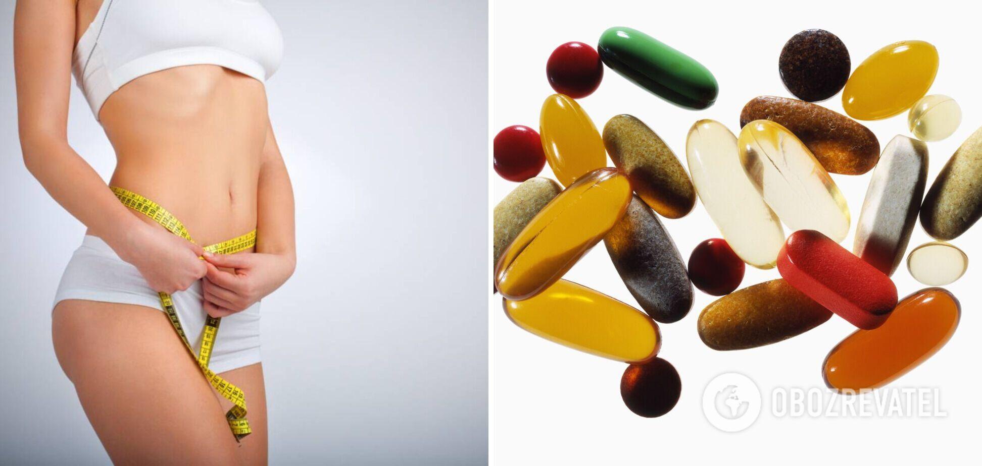 Вітаміни, які сприяють схудненню