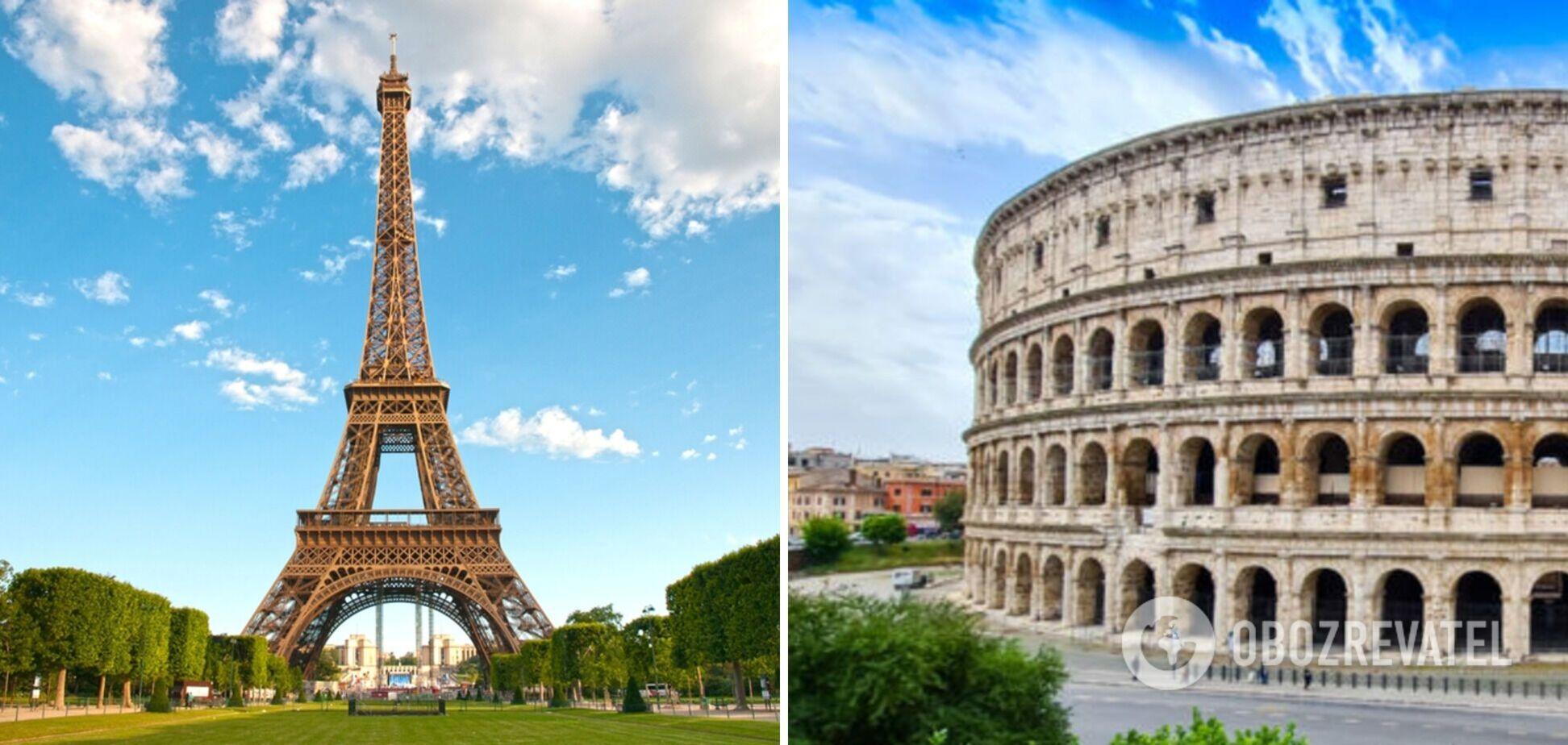 Самые известные достопримечательности мира повторили в разных странах