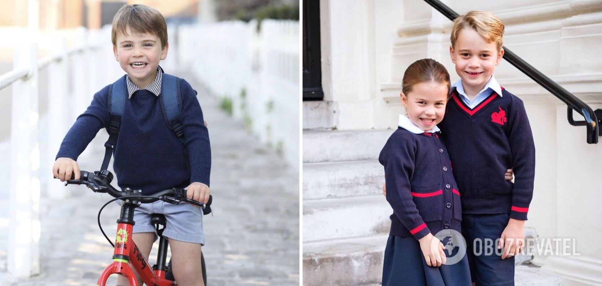 Кейт Миддлтон собственноручно делает официальные портреты детей