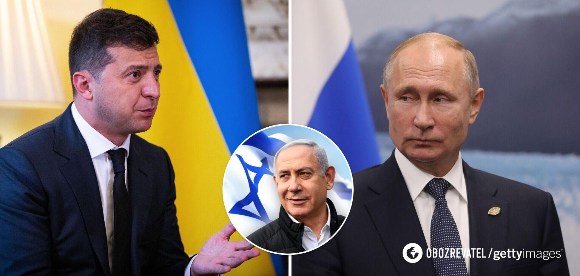 Прем'єру Ізраїлю запропонували роль посередника між Україною і Росією