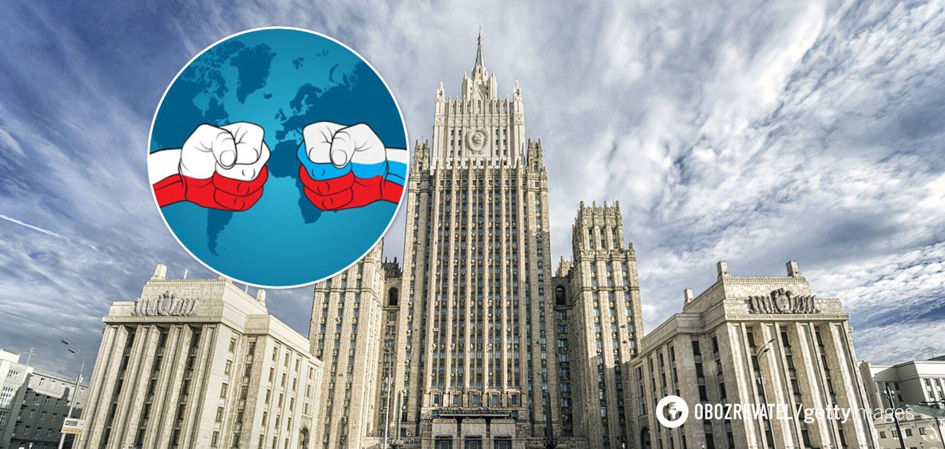 Польща оголосила трьох російських дипломатів персонами нон ґрата: у РФ обурилися й відповіли