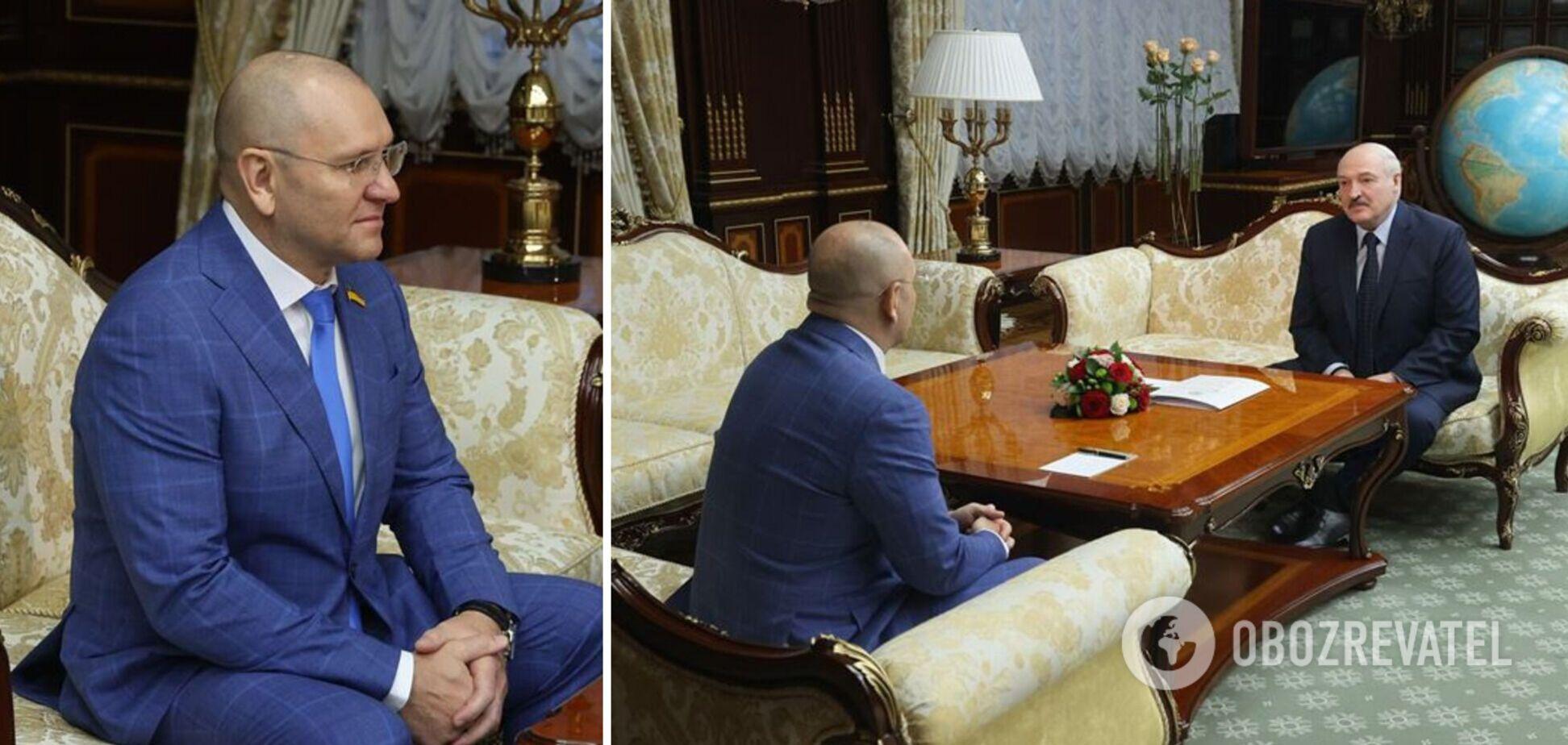 'Слуга' Шевченко в прямом эфире признался в любви Лукашенко и заявил о 'начале взаимоотношений'