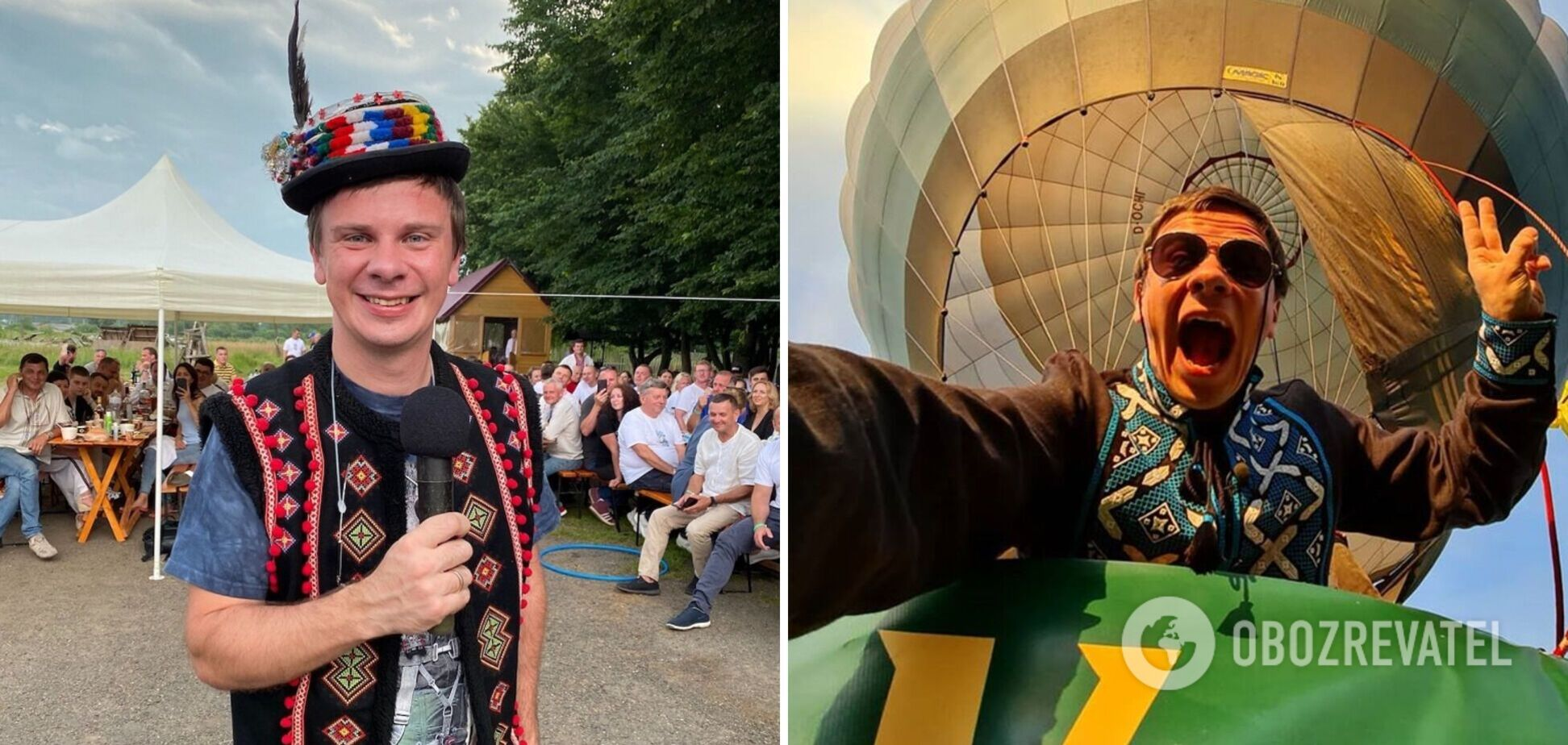 Дмитрий Комаров запускает новый проект 'Мандруй Україною'