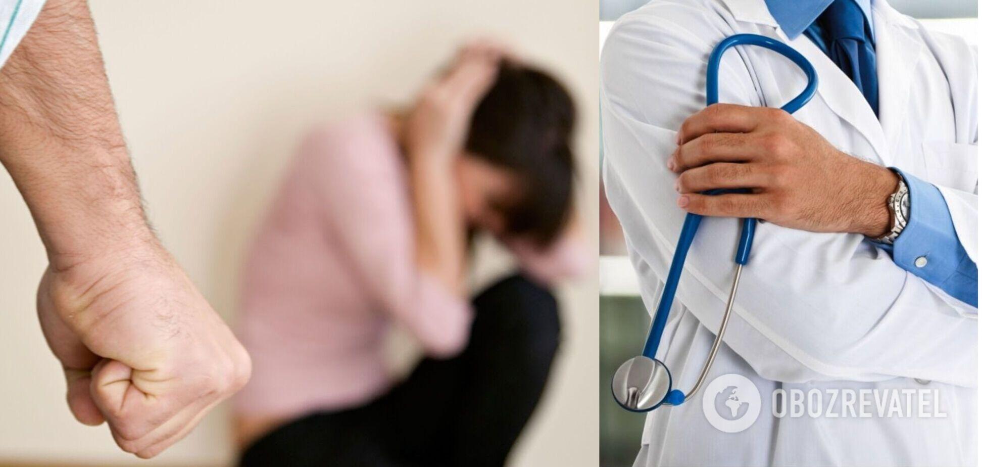 У Львові лікаря звинуватили в побитті жінки з дитиною на руках