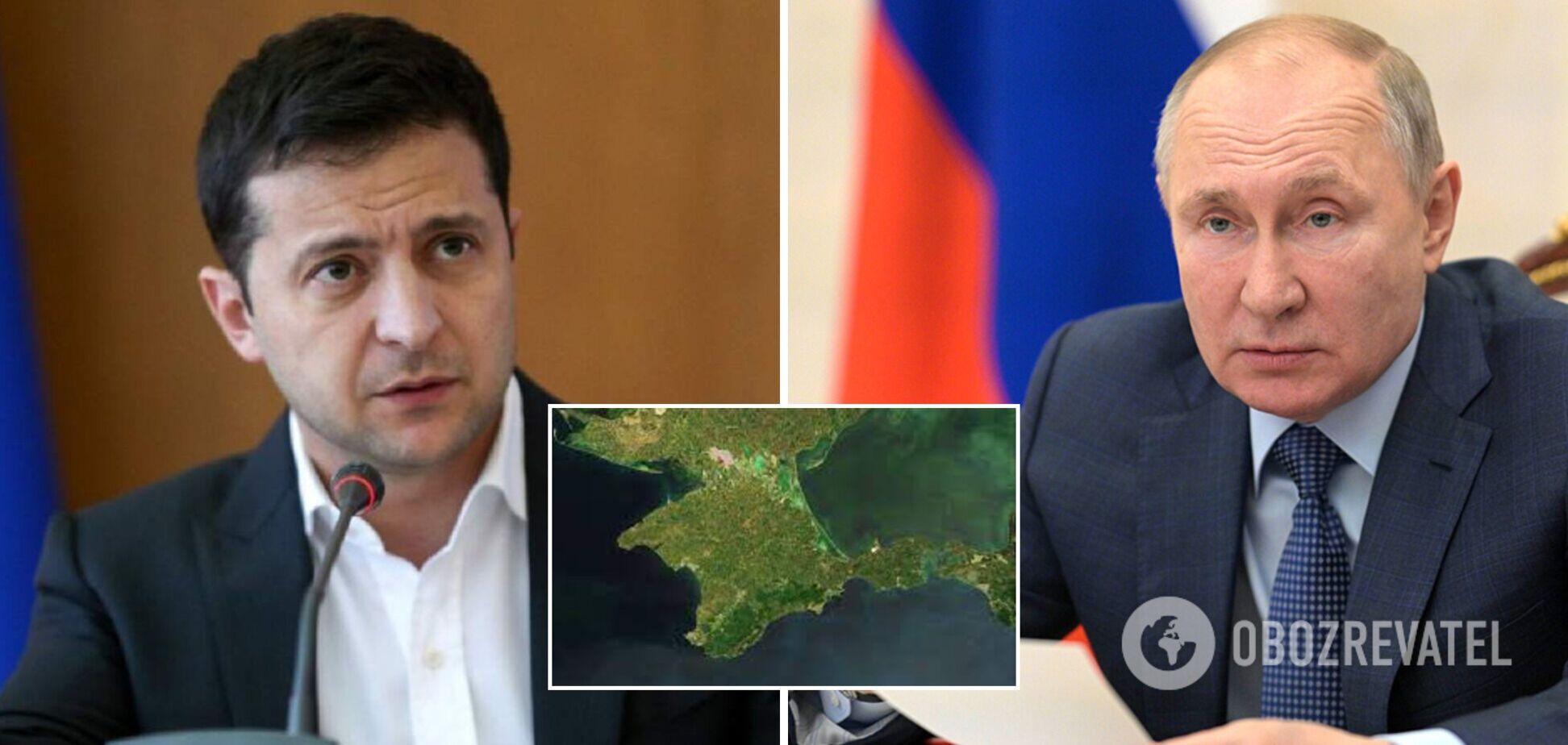 В Кремле озвучили возможную тему общения Путина и Зеленского