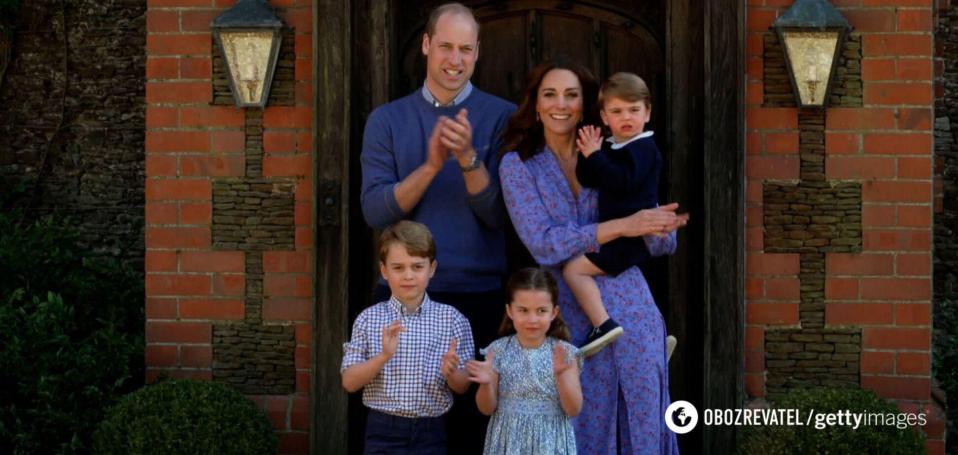 Кейт Миддлтон показала подросшего принца Луи в честь его дня рождения