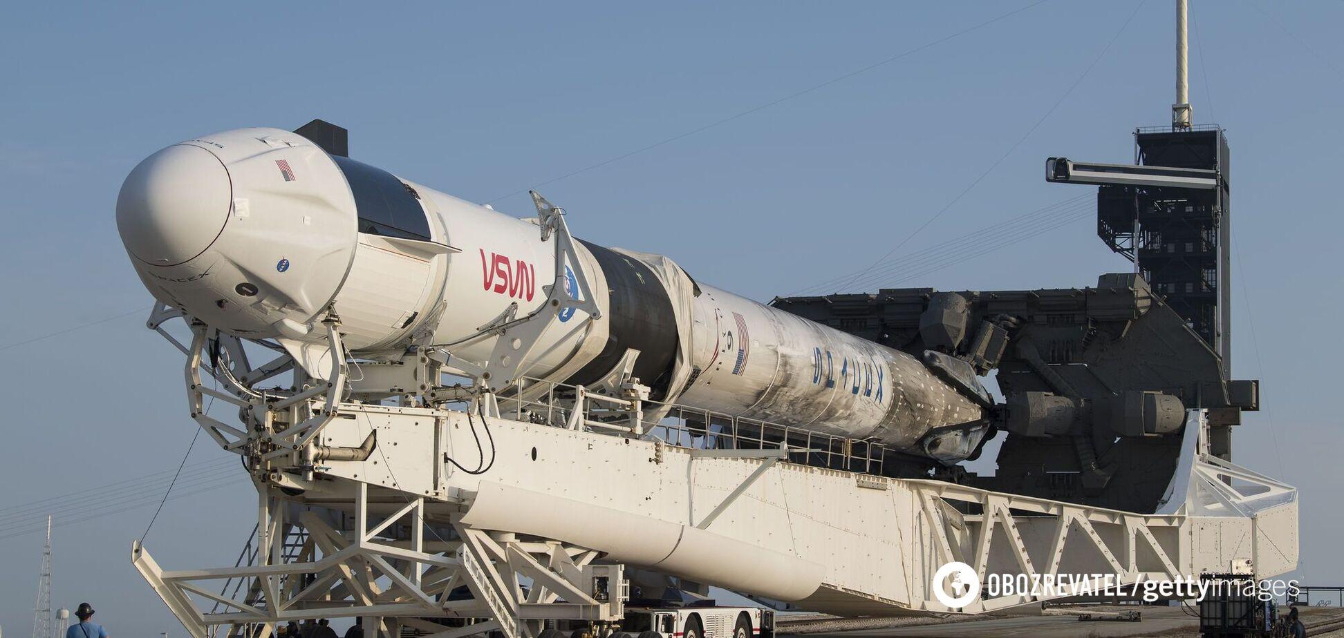 SpaceX запустила на МКС другу місію Crew Dragon: онлайн-трансляція
