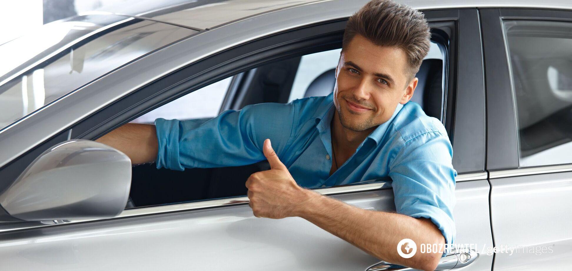 Чоловік в авто