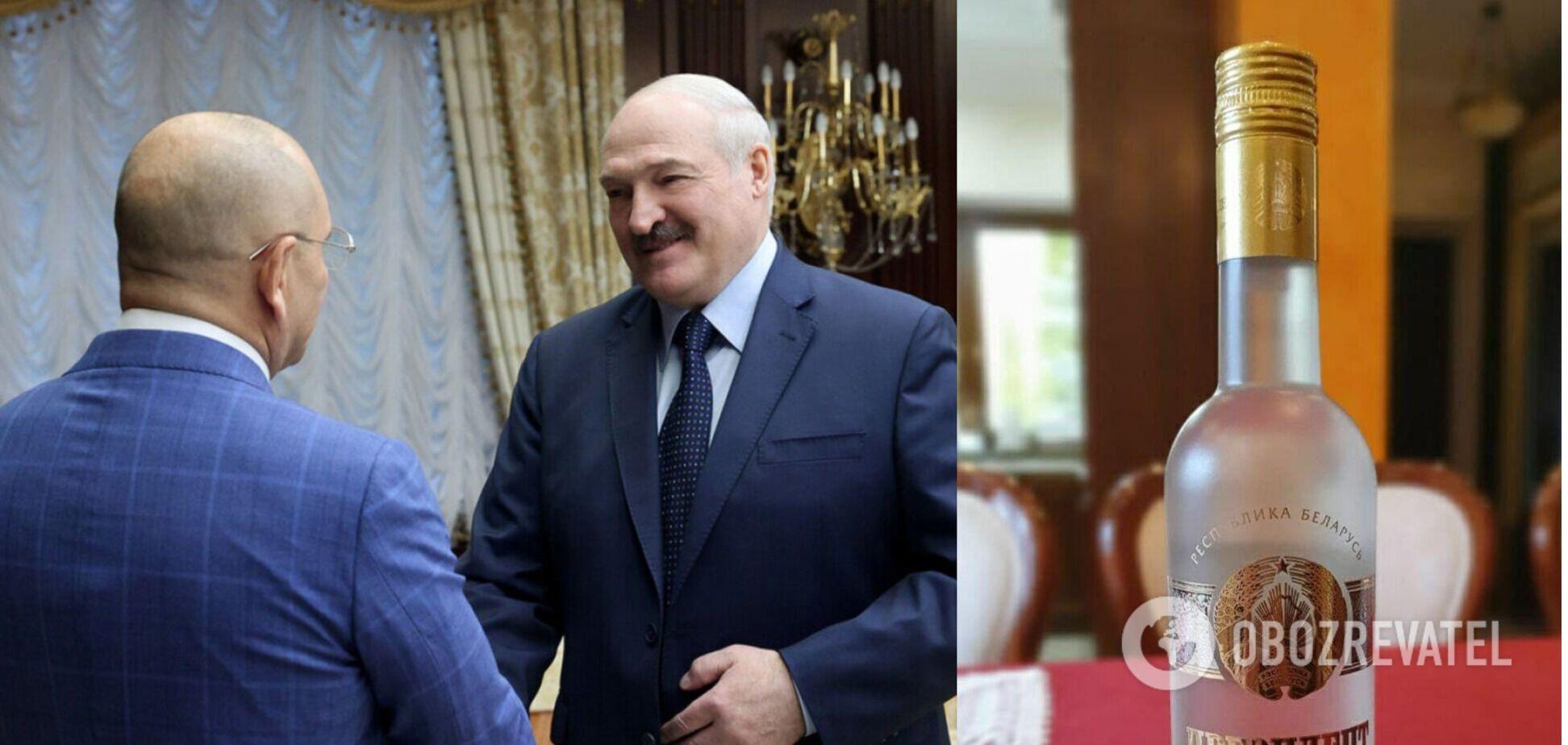 Лукашенко вручил Шевченко 'набор президента': 'слуга народа' похвастался подарками. Фото
