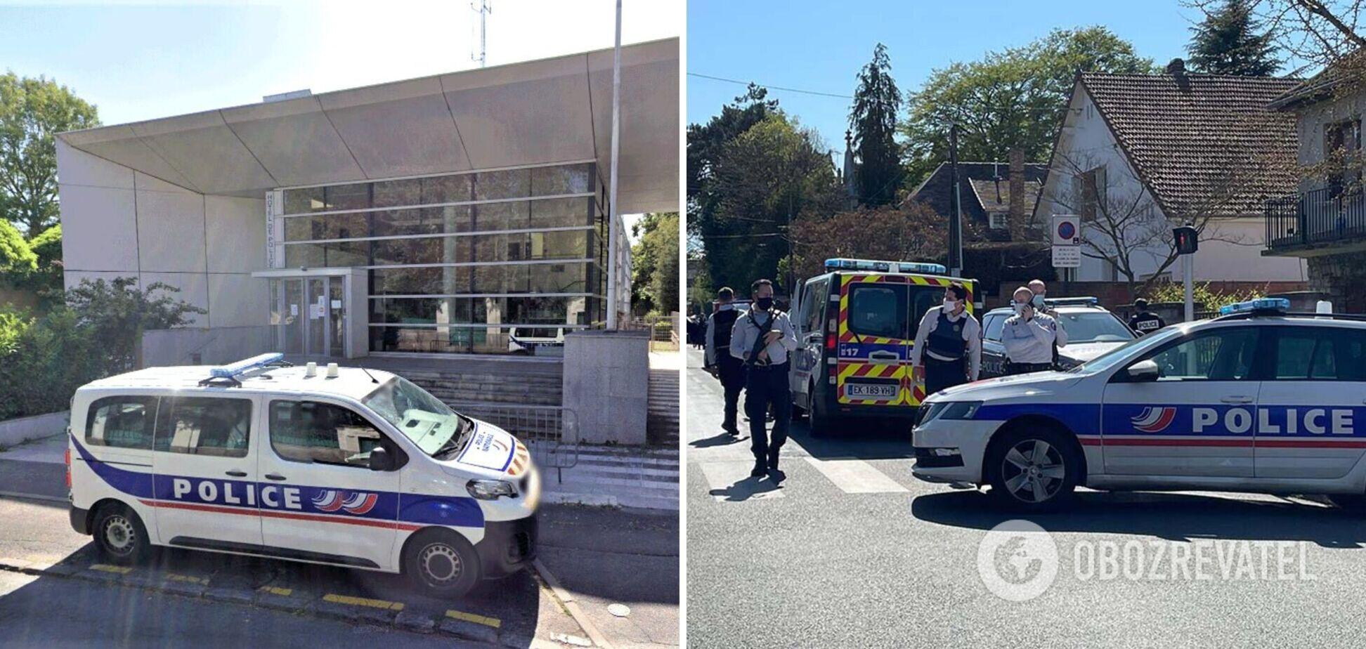 Нападение на полицейскую во Франции