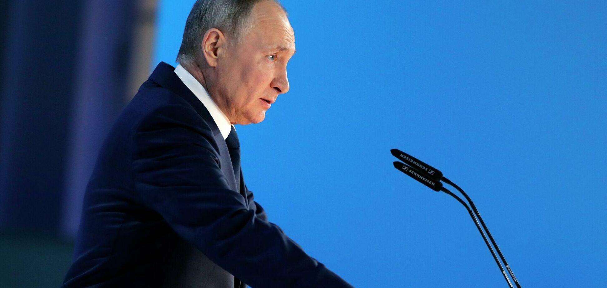 Кремлевская рептилия нагнала страху и отползла