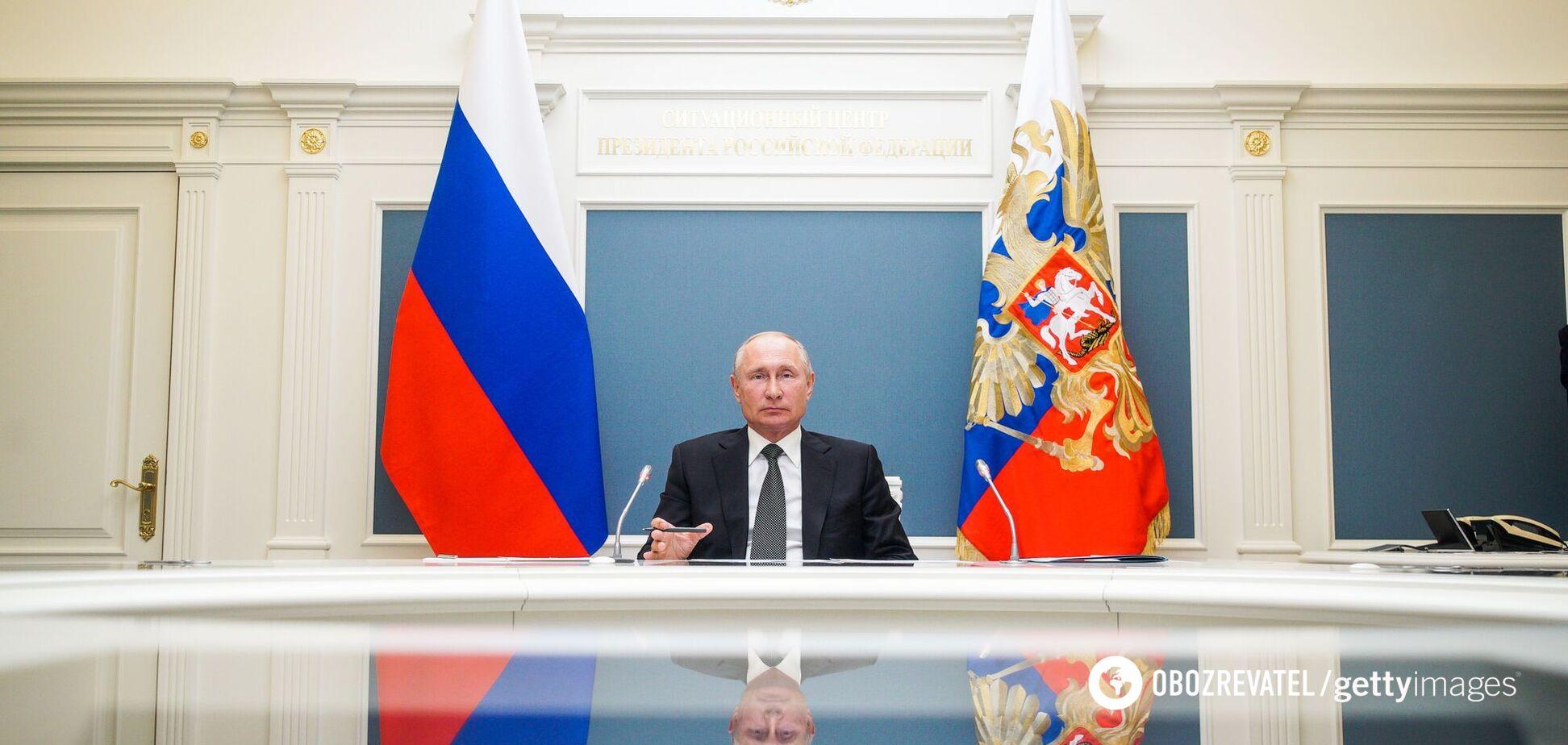 Путін підписав указ про відповідь недружнім державам