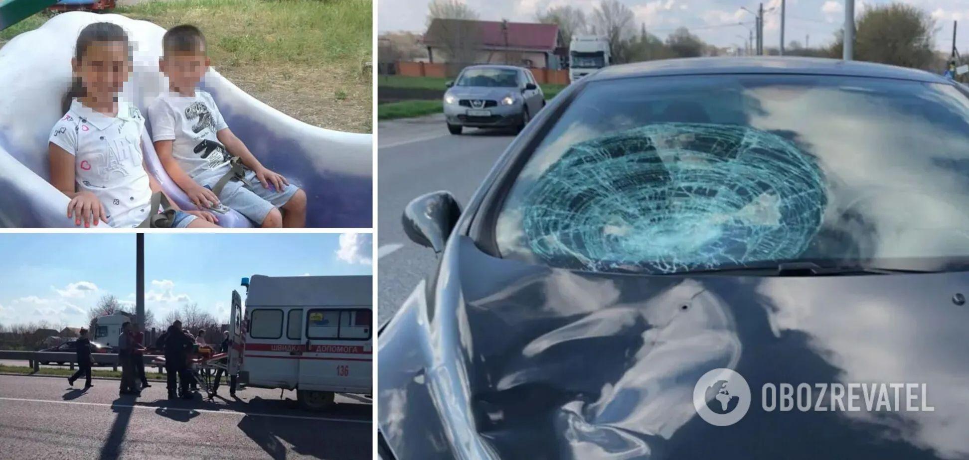 Под Днепром молодая девушка сбила детей на 'зебре': подробности жуткого ДТП