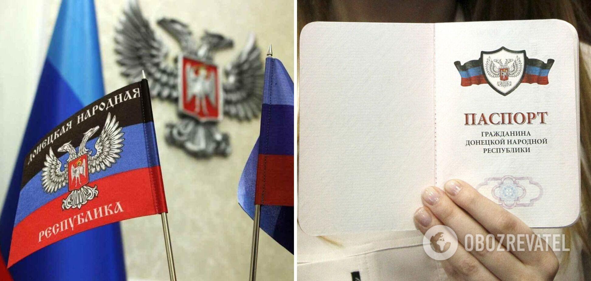 У РФ пообіцяли до кінця року вдвічі збільшити кількість паспортів, виданих жителям Донбасу