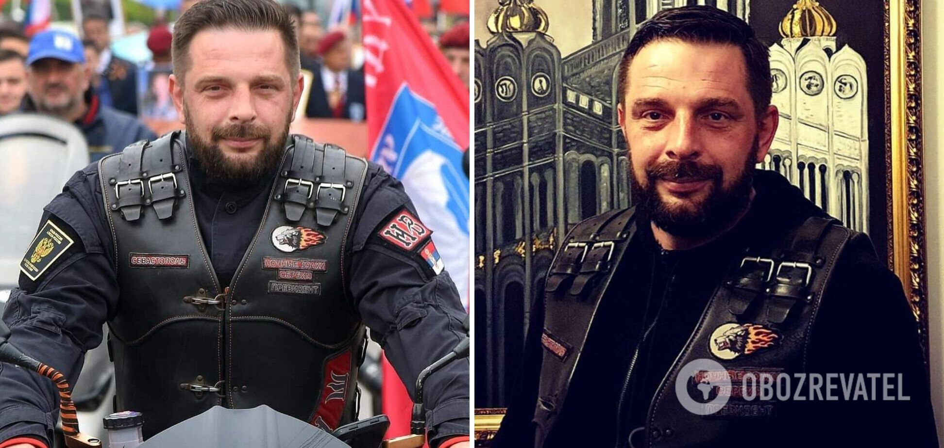 Помер 'кримнашист' і лідер 'Нічних вовків' Саша Савич