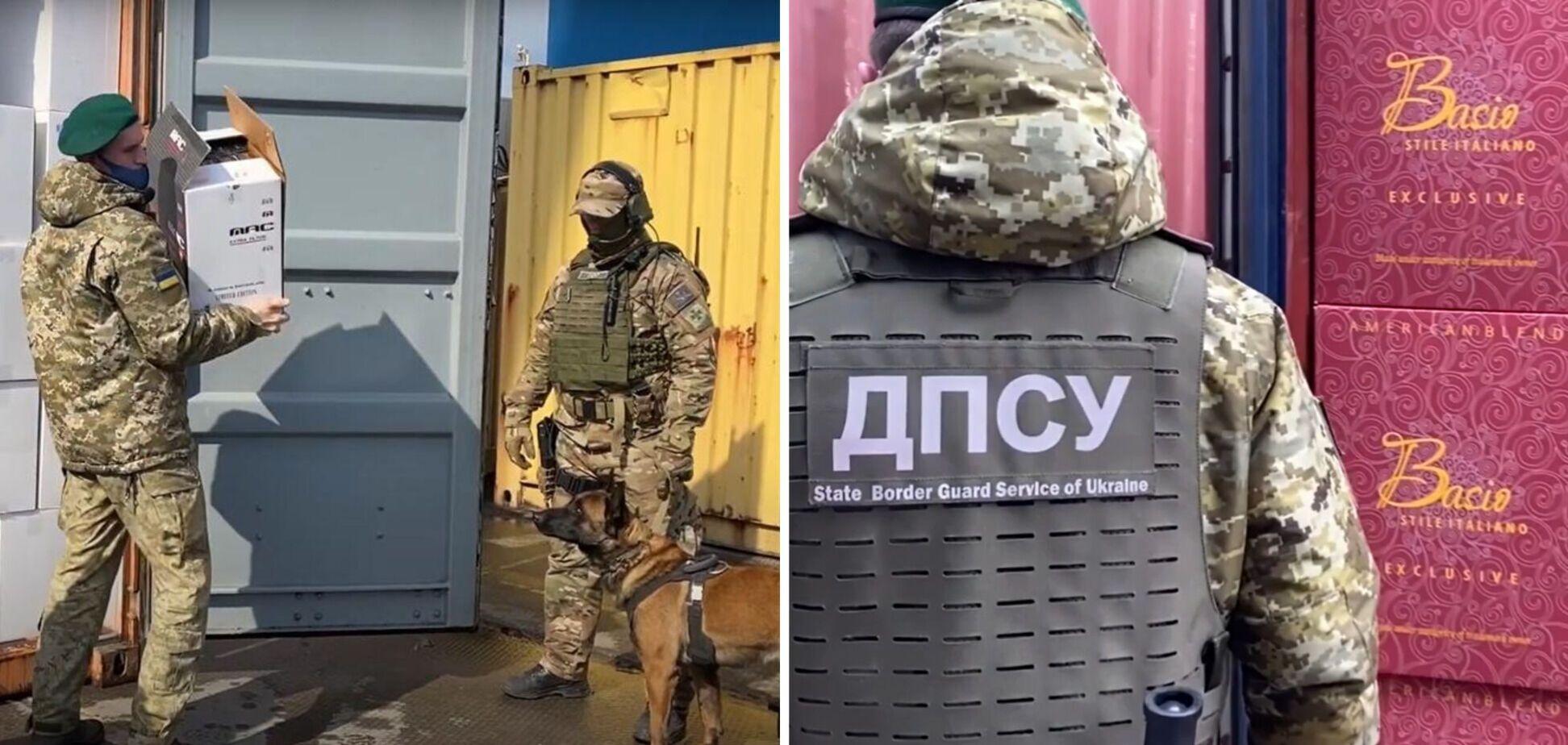 В Одеському порту вилучили контрабандні сигарети на суму близько 145 млн грн. Відео