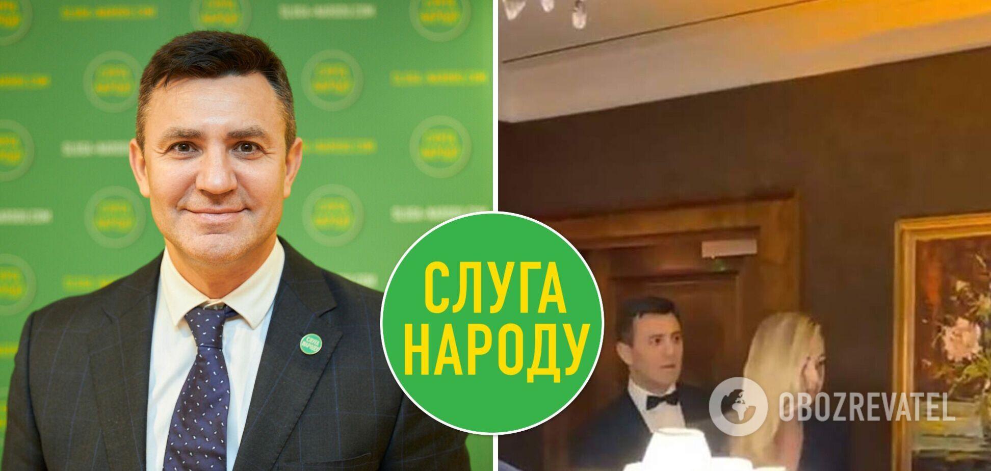 В 'Слуге народа' сказали, как могут наказать Тищенко за скандальную вечеринку в локдаун