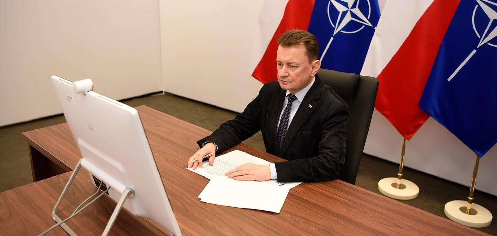 Путін хоче відновити російську імперію, – глава Міноборони Польщі