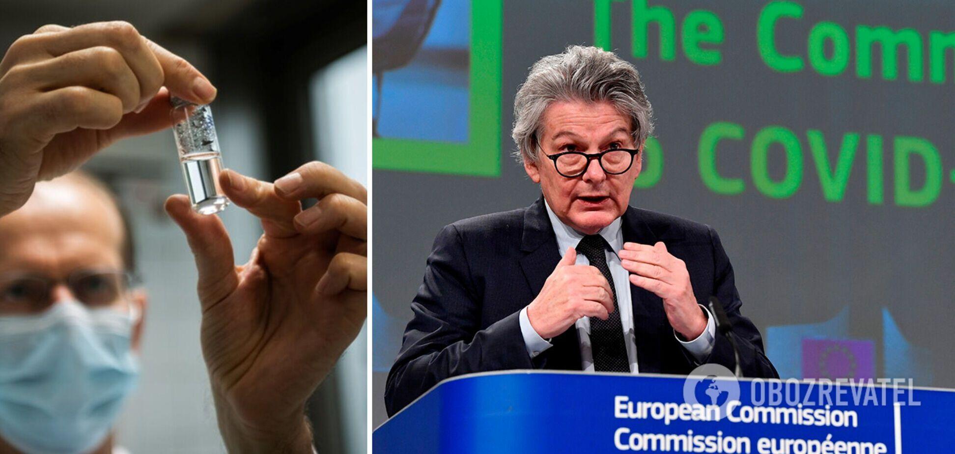 У ЄС заявили, що хочуть досягти колективного імунітету від COVID-19 до середини літа