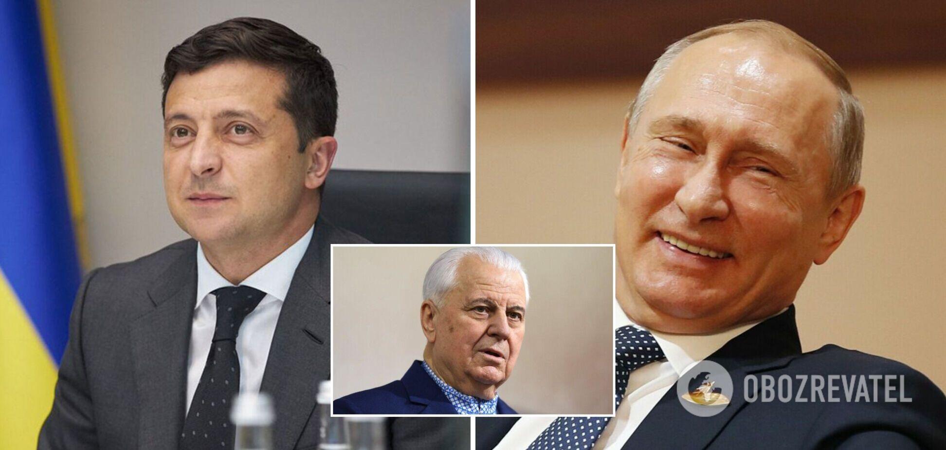 'Зеленському нянька не потрібна': Кравчук підтримав зустріч президента з Путіним 'віч-на-віч'