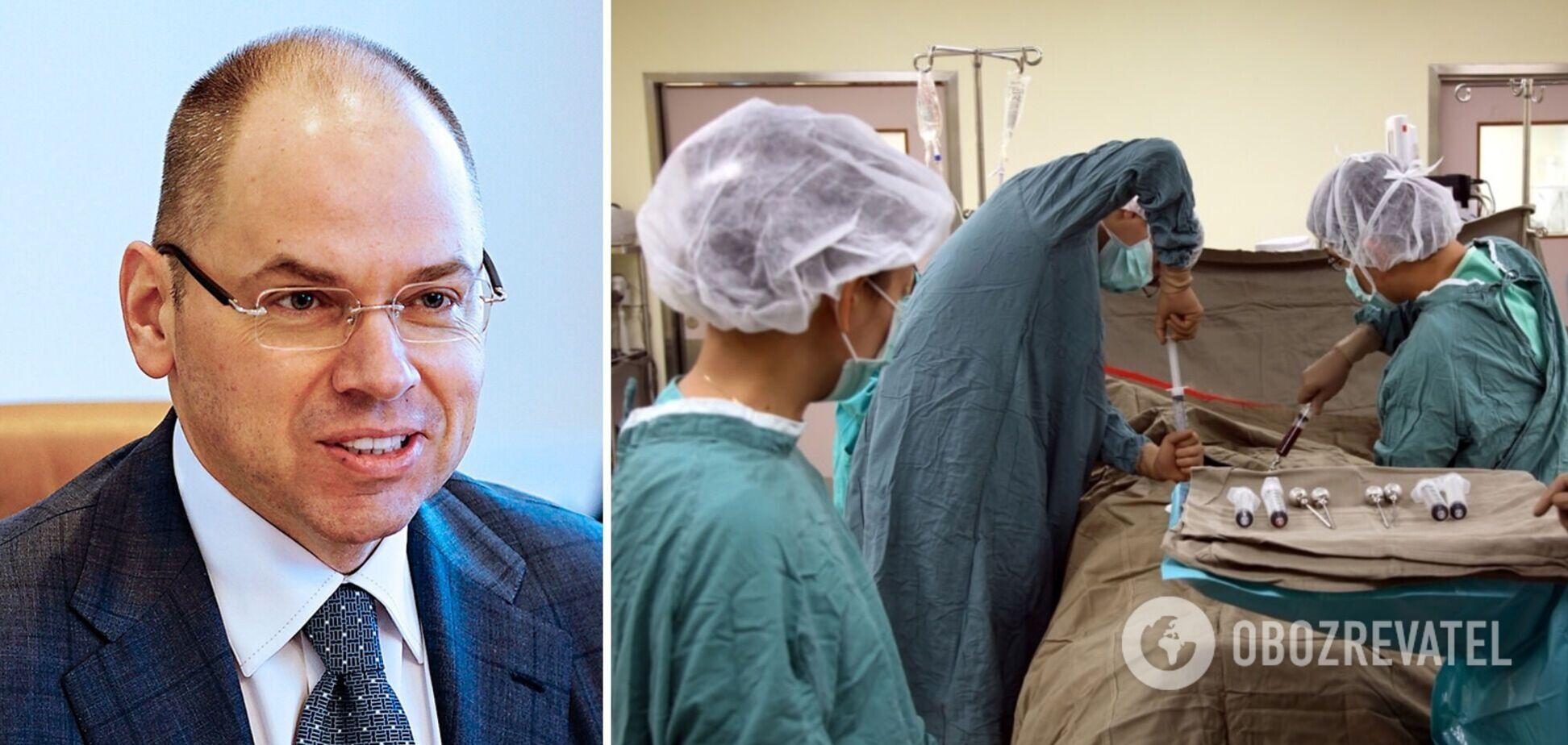В Україні провели першу за 13 років трансплантацію кісткового мозку