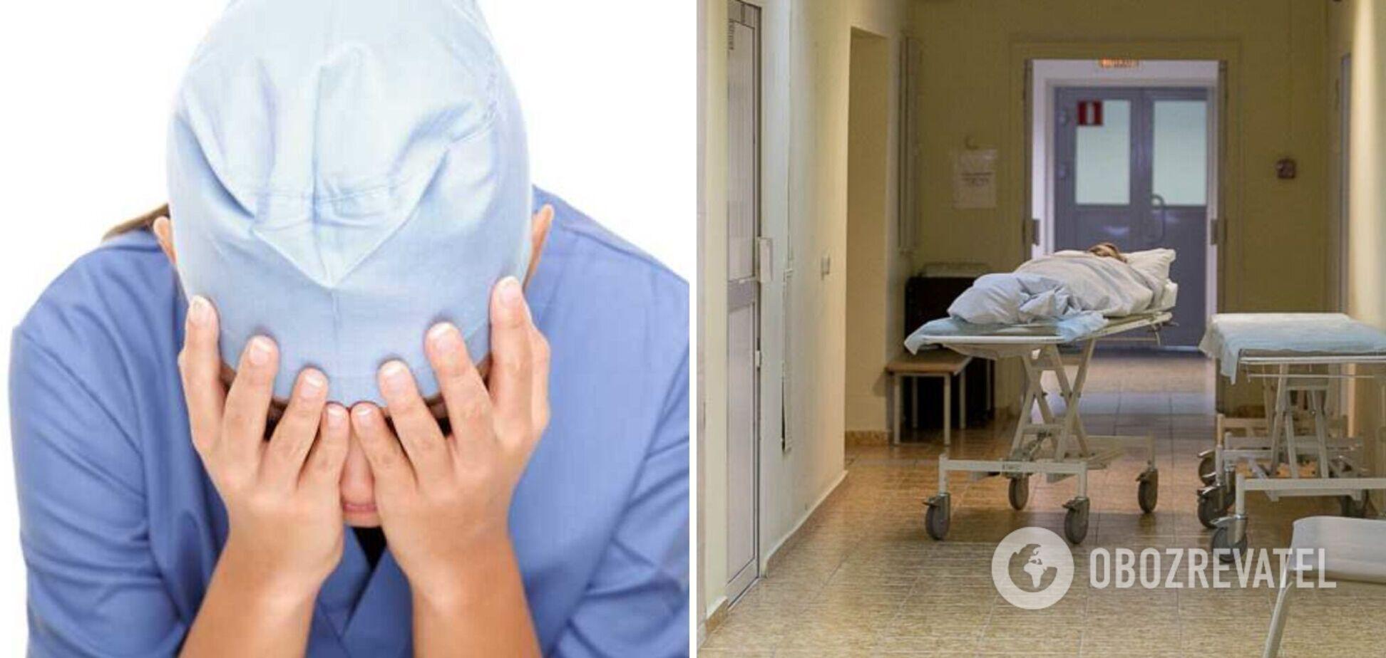В Москве пьяная медсестра поиздевалась над пациенткой. Видео