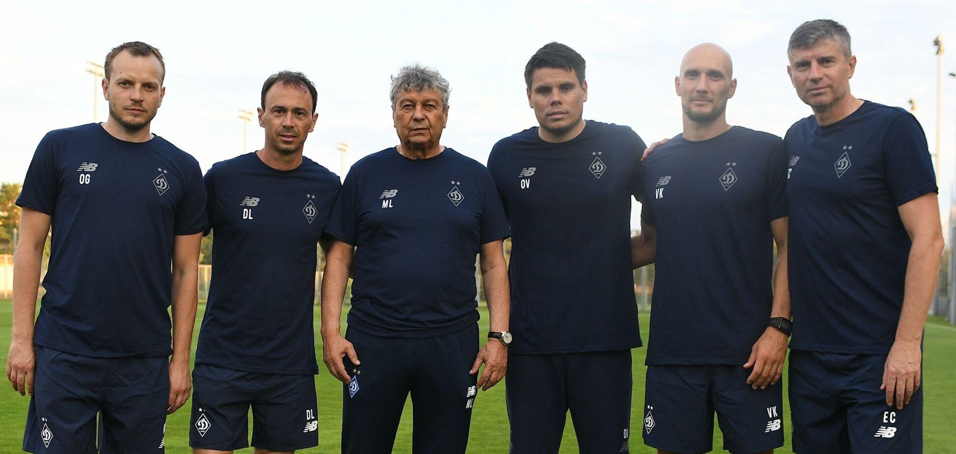 Тренеры 'Динамо'