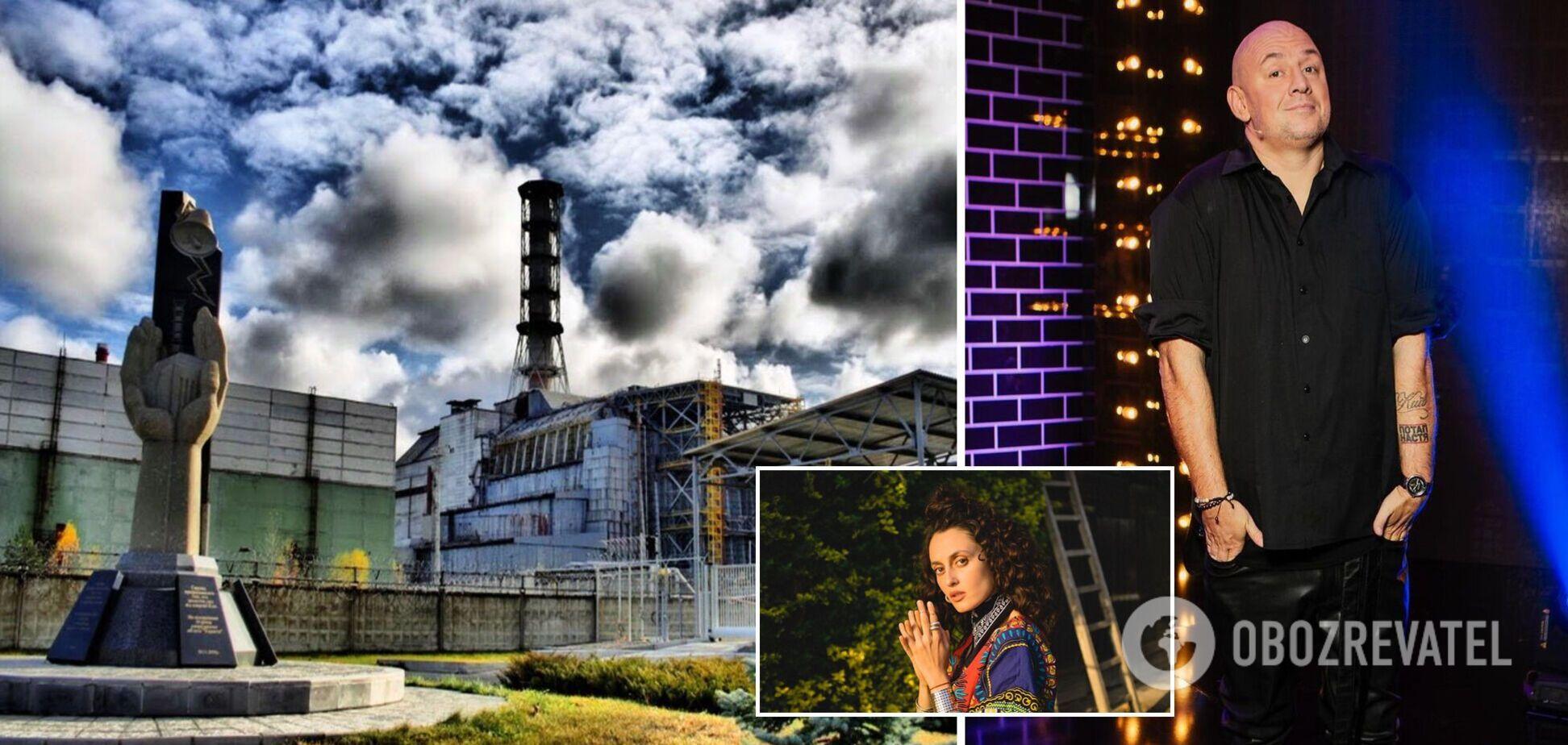 Украинские звезды посвятили 35-й годовщине катастрофы на Чернобыльской АЭС музыкальный сингл'Вальс 86