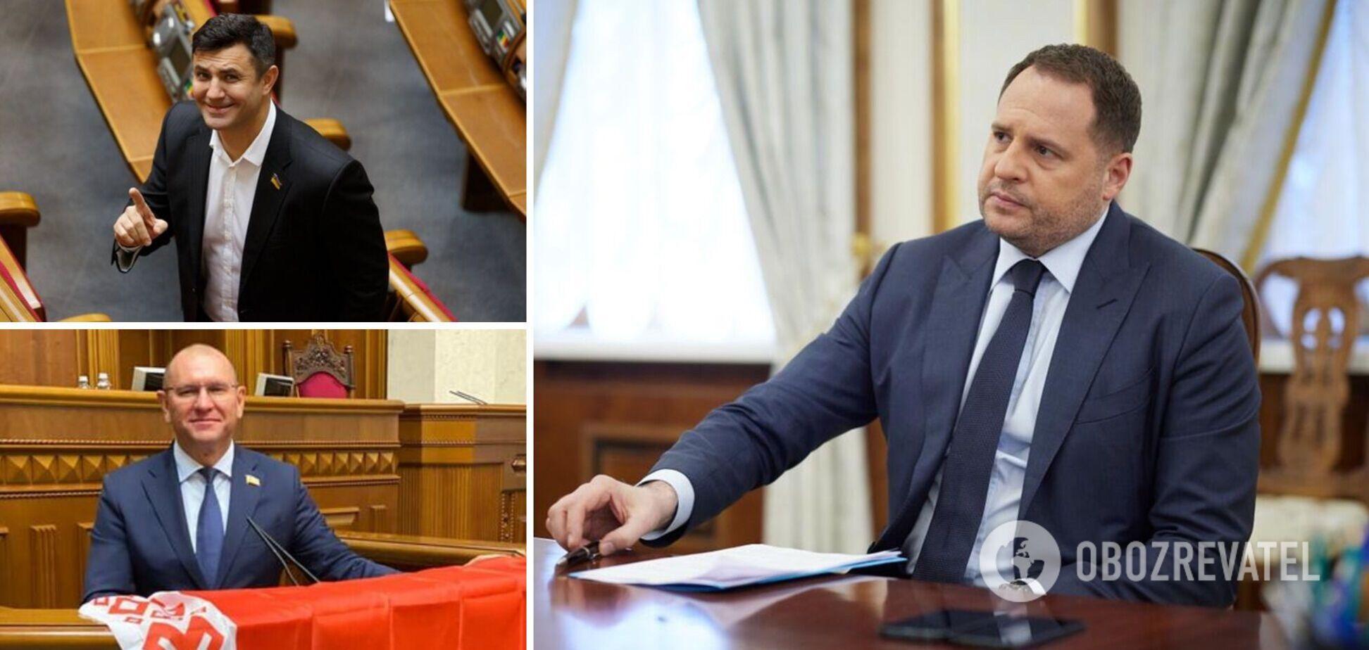 Ермак прокомментировал скандалы с Тищенко и Шевченко