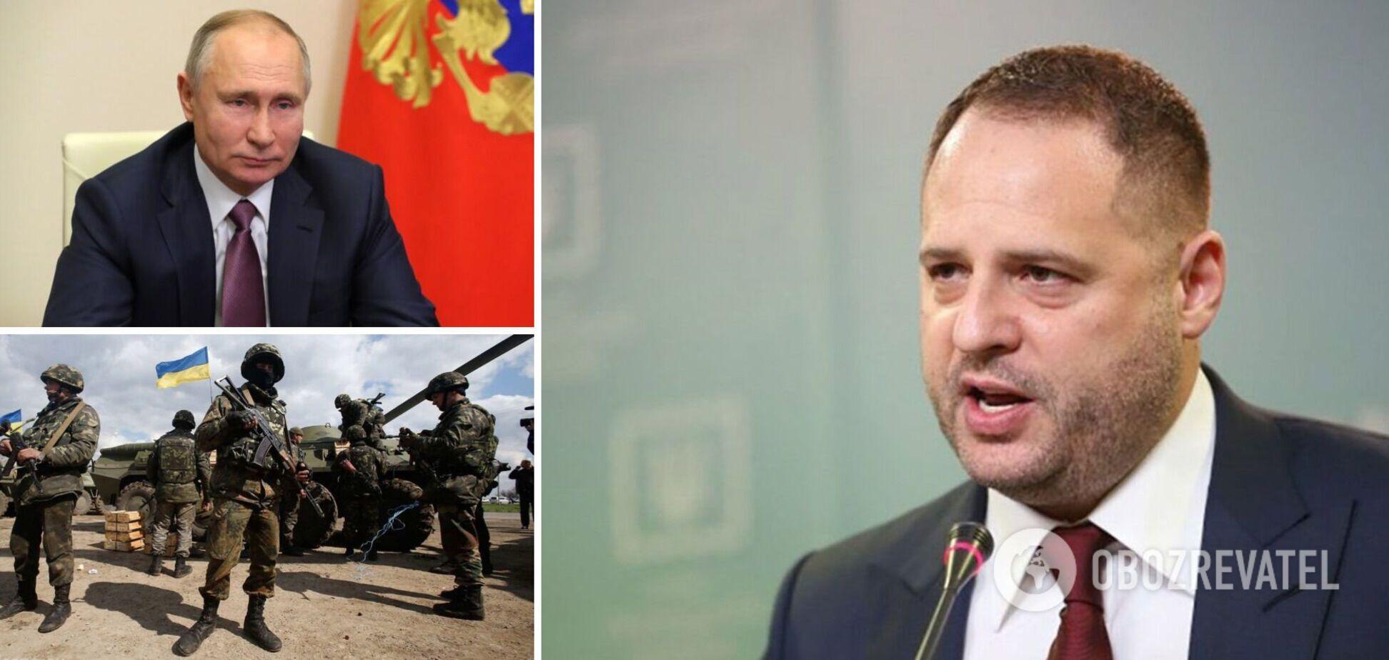 Ждут ли Путина в Киеве и как завершить войну на Донбассе: главное из интервью Ермака